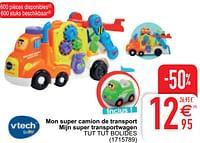 Mon super camion de transport mijn super transportwagen tut tut bolides-Vtech