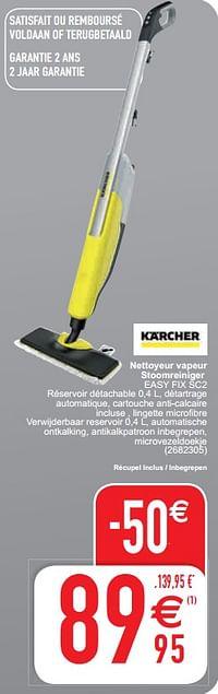 Kärcher nettoyeur vapeur stoomreiniger easy fix sc2-Kärcher