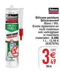 Silicone peinture siliconenverf-Rubson