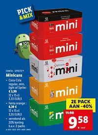 Minicans-Huismerk - Lidl
