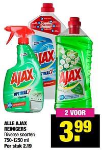 Alle ajax reinigers-Ajax