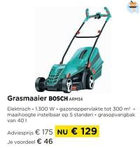 Grasmaaier bosch arm34-Bosch