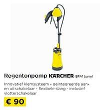 Regentonpomp bpa1 barrel-Kärcher