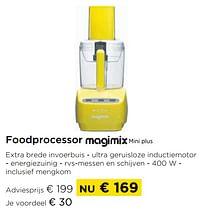 Foodprocessor magimix mini plus-Magimix