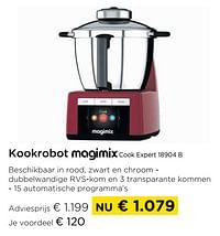 Kookrobot magimix cook expert 18904 b-Magimix