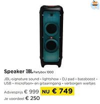 Speaker jbl partybox 1000-JBL