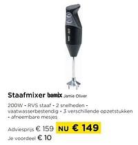 Staafmixer bamix jamie oliver-Bamix