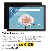 Tablet lenovo tab m10-Lenovo