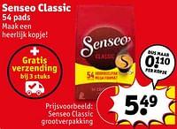 Senseo classic senseo classic grootverpakking-Douwe Egberts