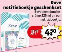 Dove notitieboekje geschenkset-Dove