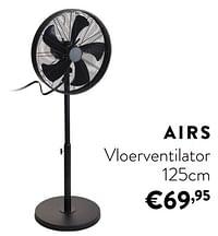 Airs vloerventilator-Huismerk - Ygo