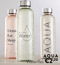 Aqua waterfles-Huismerk - Ygo