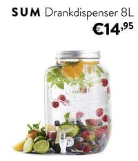 Sum drankdispenser-Huismerk - Ygo