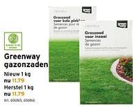 Greenway graszaden-Greenway