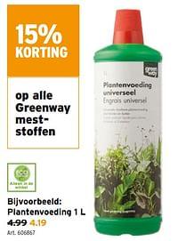 Plantenvoeding-Greenway