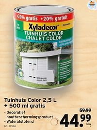 Tuinhuis color-Xyladecor