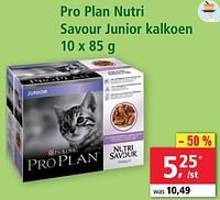 Pro plan nutri savour junior kalkoen-Purina