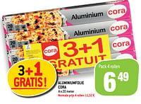 Aluminiumfolie cora-Huismerk - Match