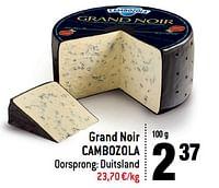 Grand noir cambozola-Cambozola