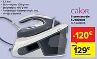 Calor stoomcentrale sv8020c0-Calor
