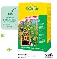 Insectenhotel-Ecostyle