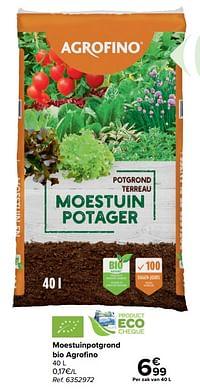 Moestuinpotgrond bio agrofino-Agrofino