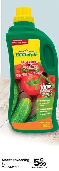 Moestuinvoeding-Ecostyle