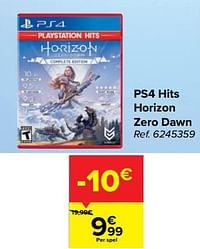Ps4 hits horizon zero dawn-Guerilla Games