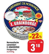 Normandische camembert e. graindorge-E. Graindorge