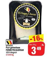 Puur geitenkaas ferme pecquereau-Huismerk - Match
