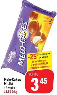 Melo-cakes milka-Milka