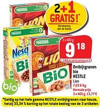 Ontbijtgranen bio nestle-Nestlé