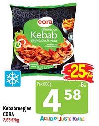 Kebabreepjes cora-Huismerk - Match