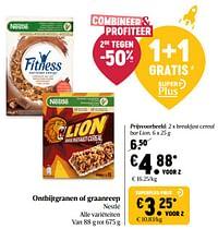 Nestlé breakfast cereal bar lion-Nestlé