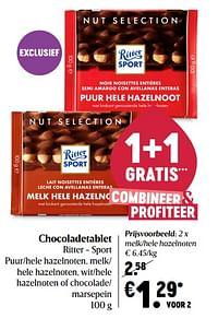 Chocoladetablet ritter - sport-Ritter Sport