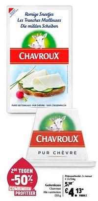 Geitenkaas chavroux-Chavroux