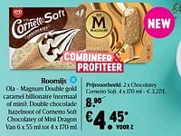 Ola roomijs chocolatey cornetto soft-Ola