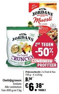 Ontbijtgranen jordans-Jordans