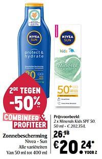 Nivea minerals kids spf 50-Nivea