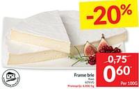 Franse brie kaas-Huismerk - Intermarche
