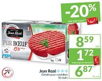 Jean rozé gehakt puur rundvlees-Jean Rozé