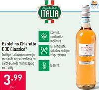 Bardolino chiaretto doc classico-Rode wijnen