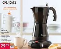 Quigg elektrische espressomaker-QUIGG