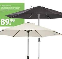 Parasol miami-Huismerk - Gamma