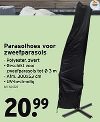 Parasolhoes voor zweefparasols-Huismerk - Gamma