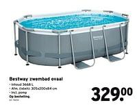 Bestway zwembad ovaal-BestWay