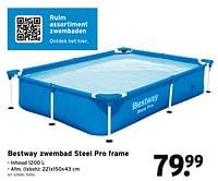 Bestway zwembad steel pro frame-BestWay