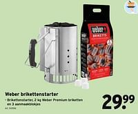 Weber brikettenstarter-Weber
