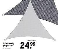 Driehoekig polyester-Handson