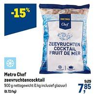 Metro chef zeevruchtencocktail-Huismerk - Makro